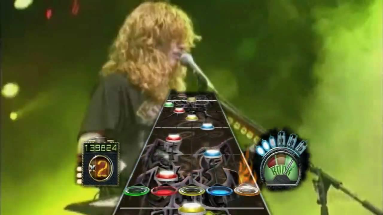 Guitar hero 3 frets on fire custom song megadeth take no prisoners hd 720p youtube - Guitar hero 3 hd ...