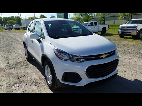 2017 Chevy Trax LS Full Review - Summit White