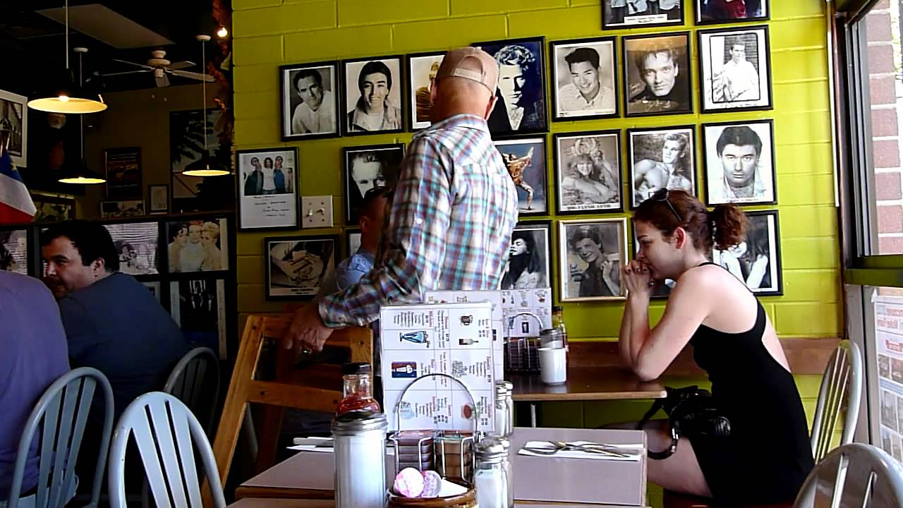 The Elbow Room Cafe Vancouver. cheerful owner p1 - YouTube