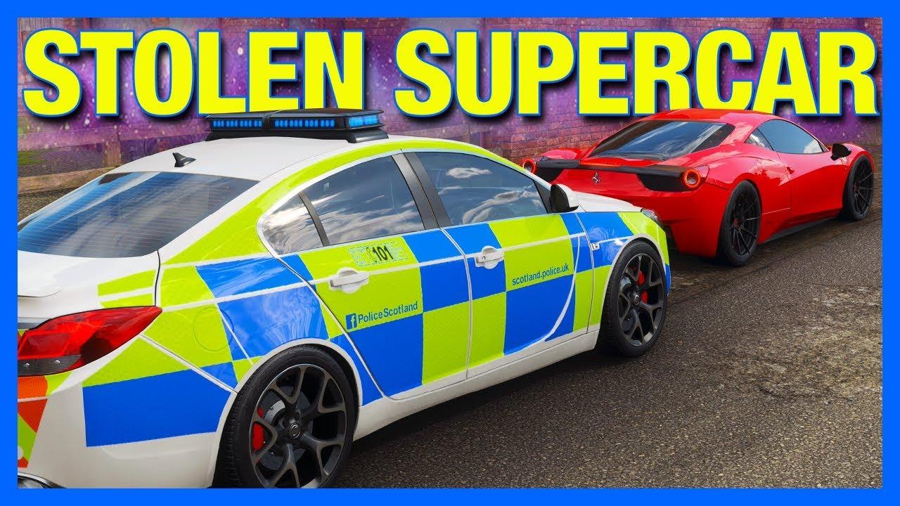 Forza Horizon 4 Online : Stolen Supercar!! (Part 3)
