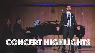 CONCERT HIGHLIGHTS: College Senior Recital - Anthony León, Tenor
