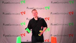 Flair Bartending Combo Routine: Lessons 29 & 97