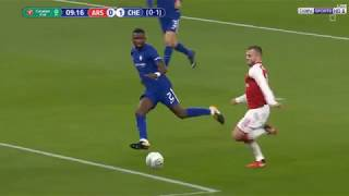 Highlights Arsenal 2-1 Chelsea (25/1, League Cup)