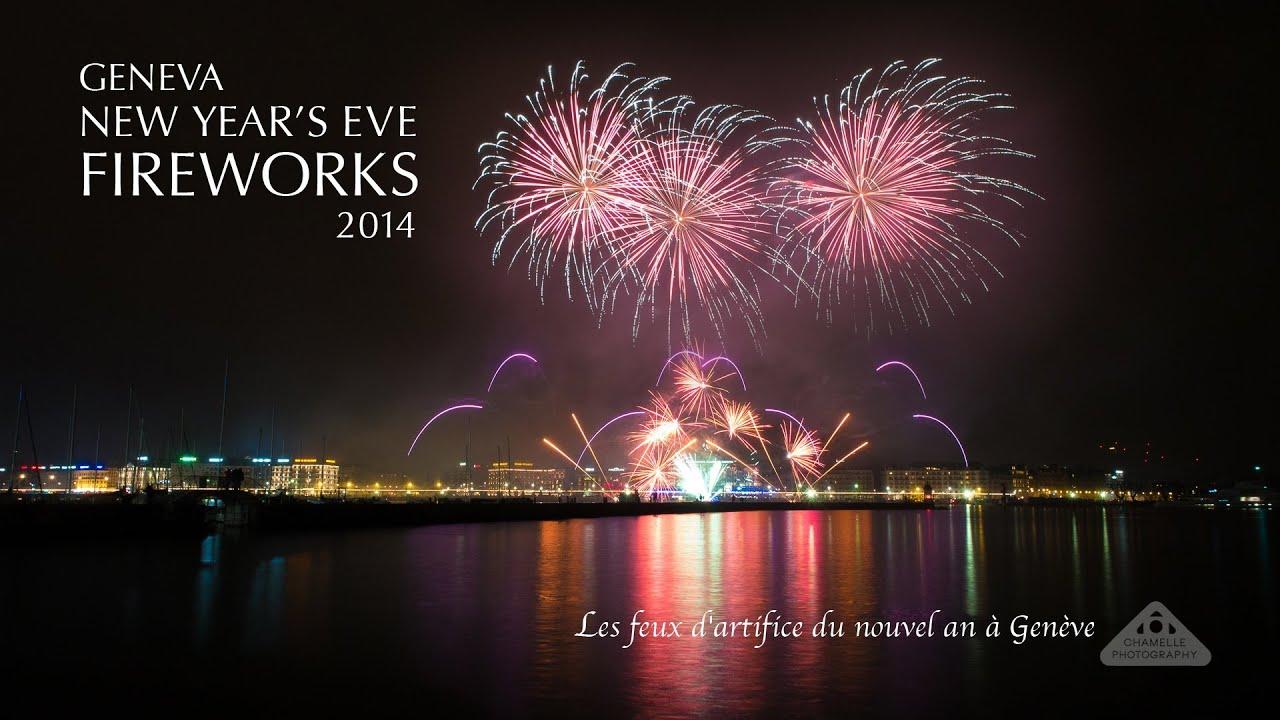 geneva switzerland new years eve 20132014 fireworks