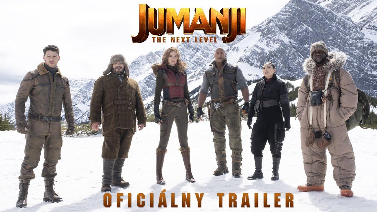 JUMANJI: ĎALŠÍ LEVEL (SK dabing trailer) - od 12. decembra aj v 3D