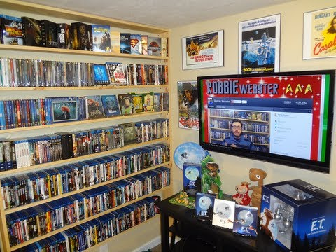 NERD CAVE Tour 2013!! - My Media Room - YouTube