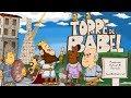 Torre de Babel em desenho animado, em português, desenho infantil bíblico para Escola Dominical