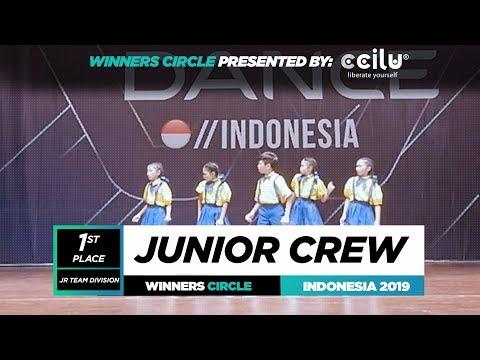 Junior Crew  1st Place Jr  Winners Circle  World of Dance Indonesia Qualifier 2019  WODIDN19