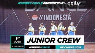 Junior Crew | 1st Place Jr | Winners Circle | World of Dance Indonesia Qualifier 2019 | #WODIDN19