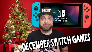 The BEST NEW Nintendo Switch Games for December!