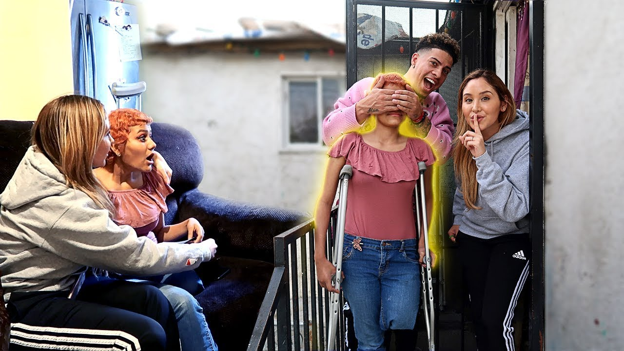 WE SURPRISED OUR BIGGEST FAN WHO BEAT CANCER!!! **INSPIRATIONAL**