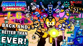 We Play YOUR Mega Man Maker Levels w/ Spiff, Voxandra, and the GigaBoys.