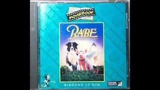 Previews From Babe (Interactive Moviebook) 1996 PC CD-Rom