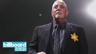 Billy Joel Wears Yellow Star of David Amidst Rising White Supremacist Tensions | Billboard News