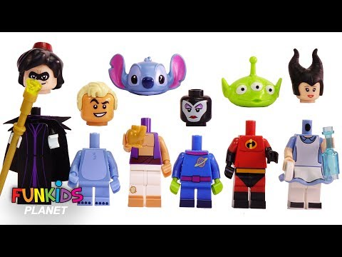 WRONG HEADS! Paw Patrol Help Lego Disney Characters & Mickey Mouse
