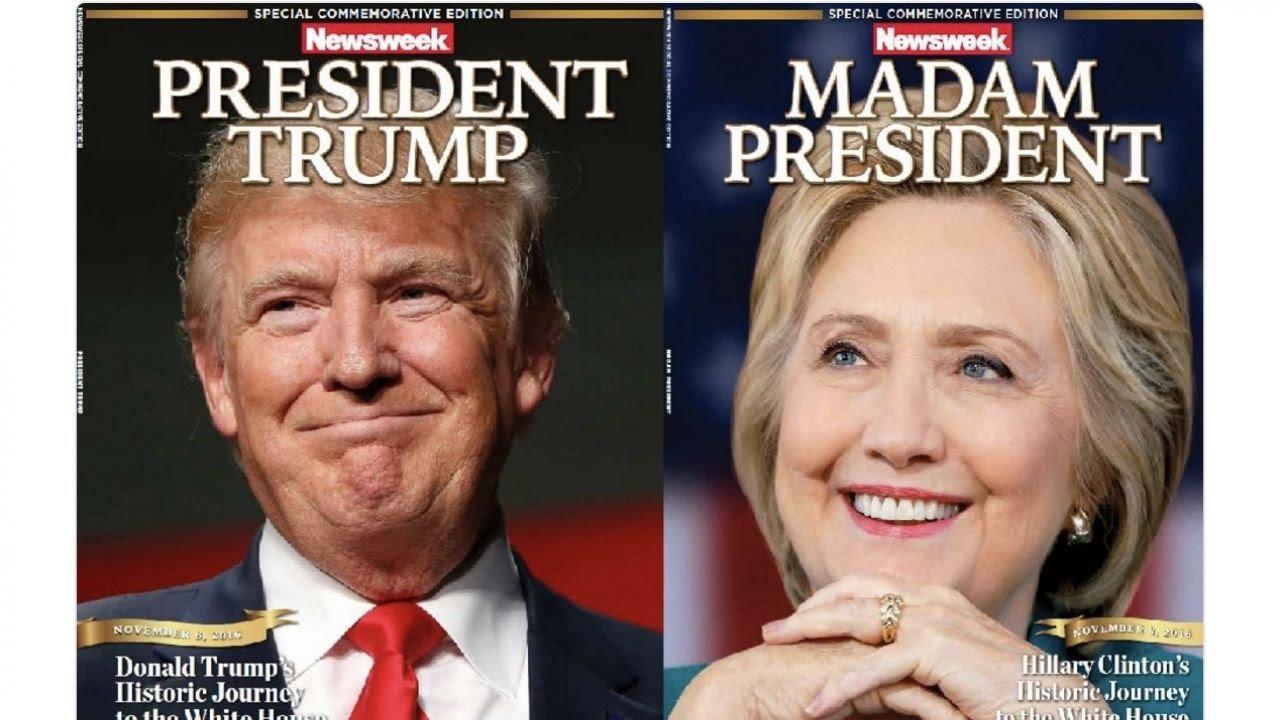 RECALLED NEWSWEEK MADAM PRESIDENT HILLARY CLINTON MAGAZINE COMMEMORATIVE EDITION