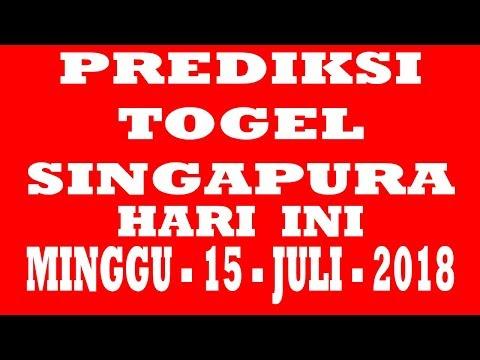 PREDIKSI TOGEL SINGAPURA HARI INI - MINGGU - 15 - JULI - 2018 - (JP LAGI HARI INI,,,)
