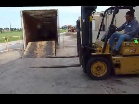 Online Auction Caterpillar Model V50D Forklift Truck, Ending July 24, 2013
