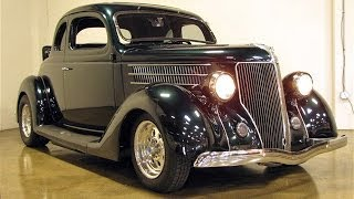1936 Ford 5-Window Coupe for Sale: All Henry Ford Steel!