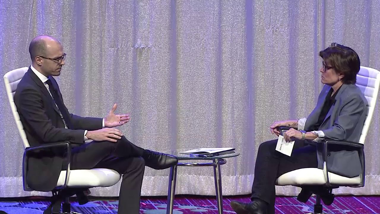 43rd Annual Knight-Bagehot Dinner: Keynote Conversation - A G Sulzberger  and Kara Swisher