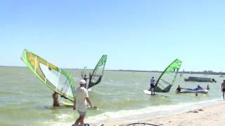 видео Виндсерфинг на Азовском и Черном море