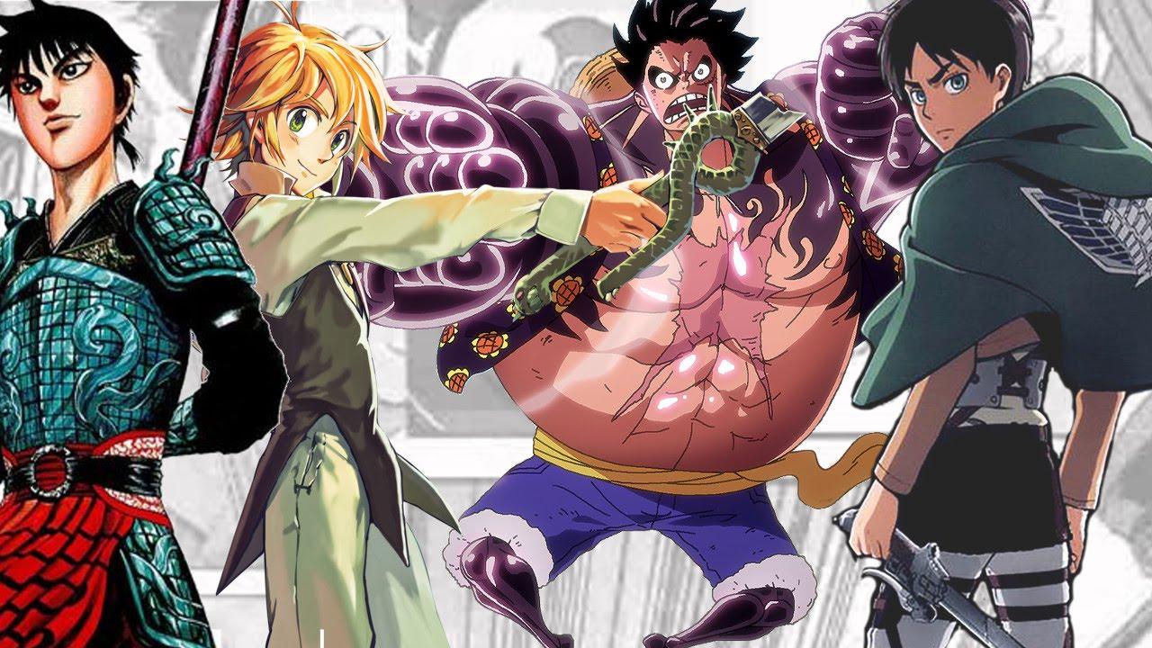 Top 30 best selling manga 2015 shocking results youtube
