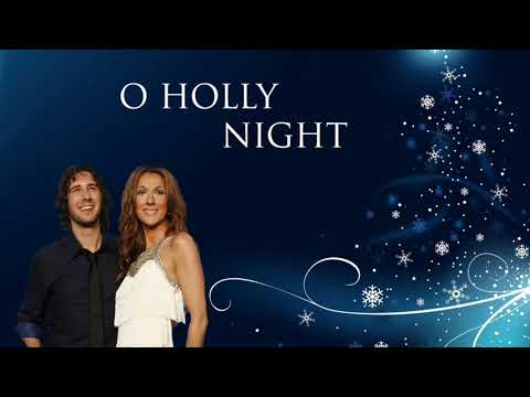 Josh Groban and  Celine Dion  O Holy Night B4GGIO Edit