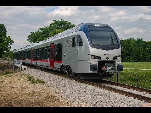 Ayo - TX Rail is ready to debut in Grapevine. Check out the new trains.