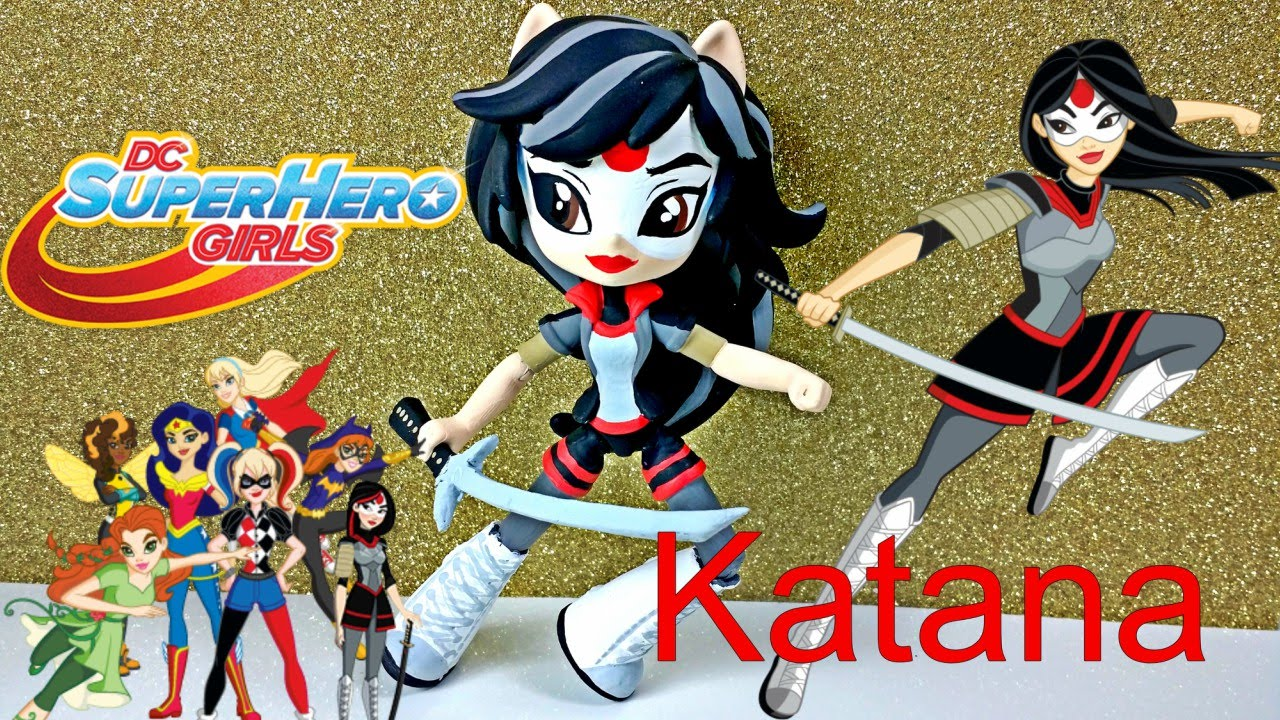 Katana Dc Super Hero Girls Custom Doll Start With Toys
