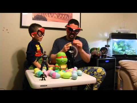 Surprise eggs, Good guys and Bad guys, Kids Nation.