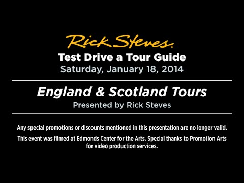 Test Drive a Tour Guide: England and Scotland