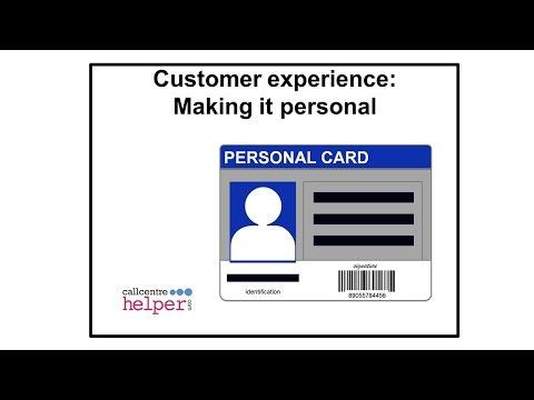 webinar replay  customer experience making it personal