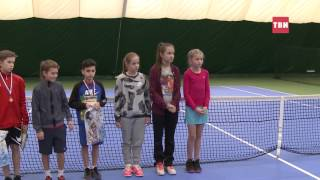 Турнир среди детей в Истринской школе тенниса
