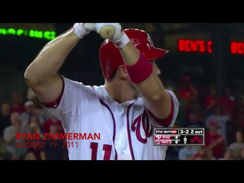 Every Walkoff Home Run in Washington Nationals History*