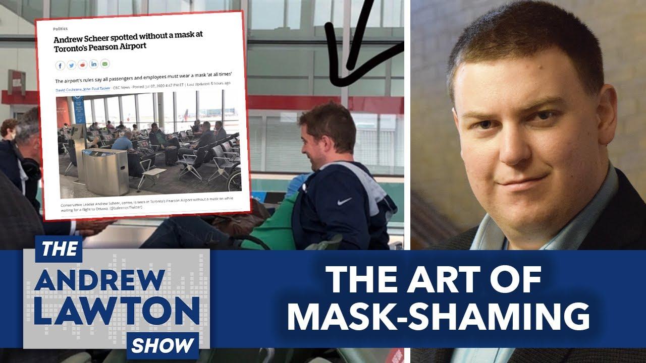 The Art of Mask-Shaming