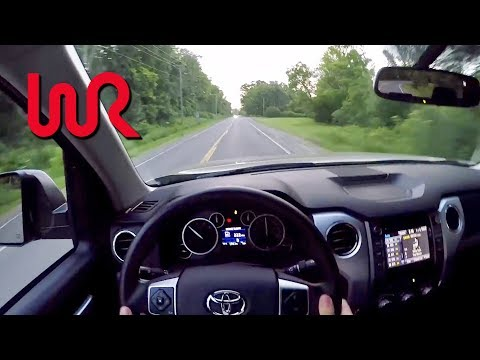 2017 Toyota Tundra SR5 4x4 TRD Off Road - POV Test Drive & Review