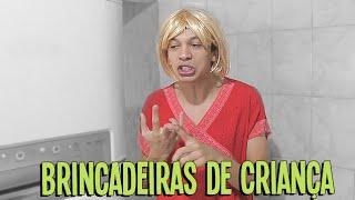 AS VIOLENTAS BRINCADEIRAS DA MINHA INFÂNCIA