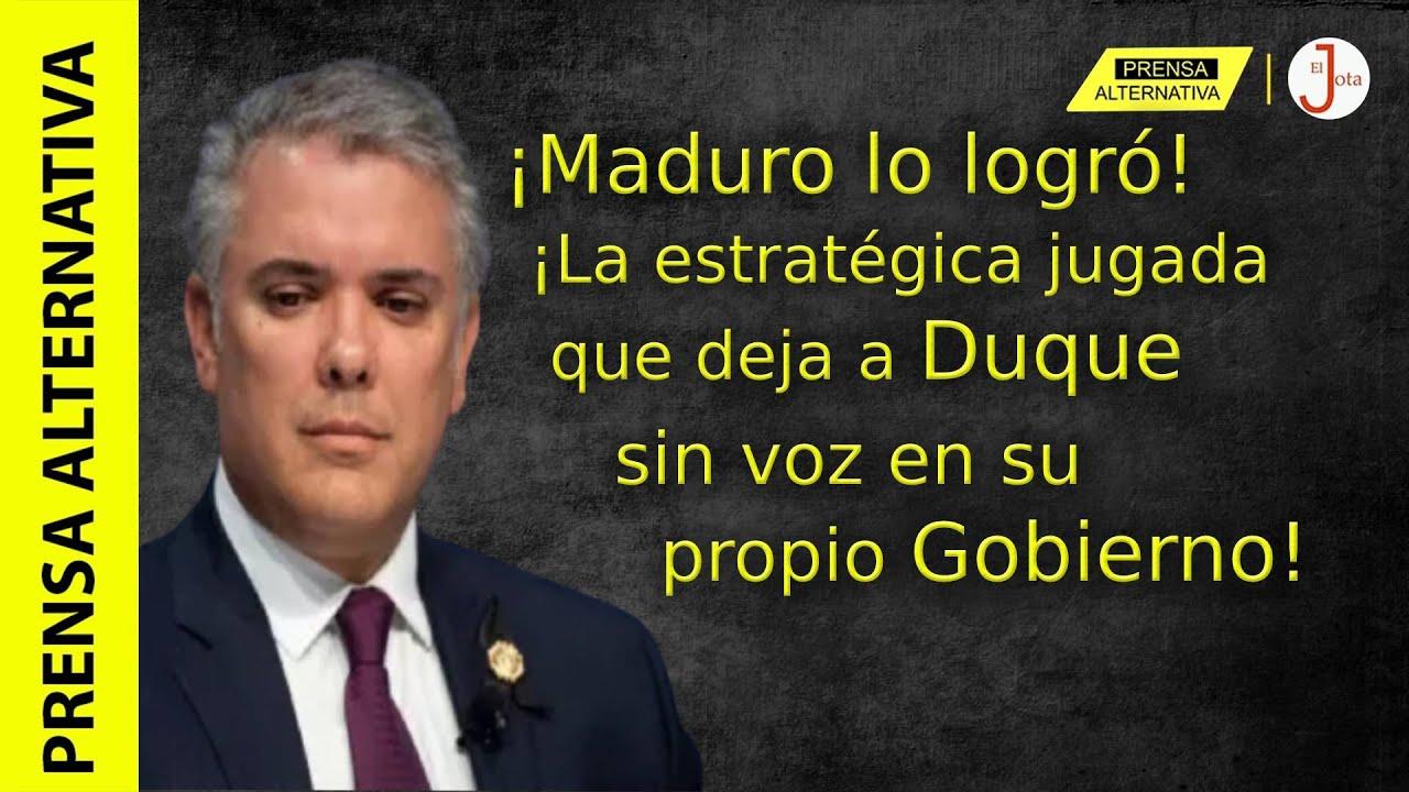 Venezuela acorraló a Duque y deberá reconocer sí o sí a Maduro como mandatario!