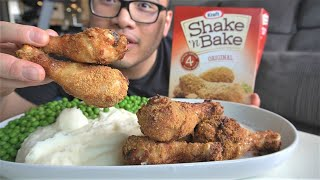 I Always Wanted to TRY THIS!   ---  SHAKE & BAKE
