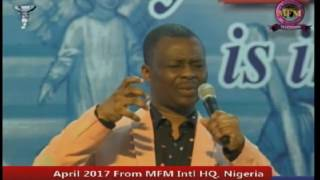 Dr  D  K  Olukoya   The Mystery of the God of Elijah April 2017   Manna Water 1