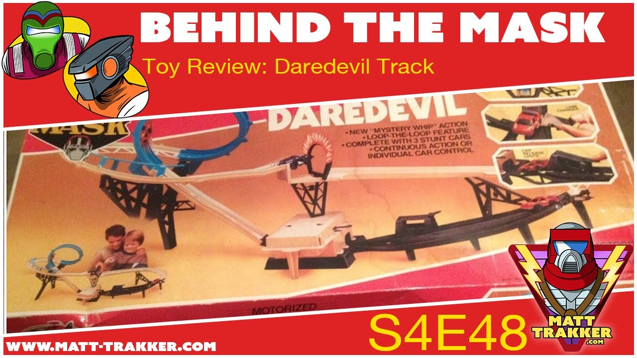 Toy Review: Daredevil Track Part 1 - S4E48