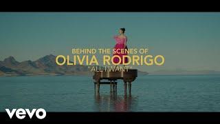 Olivia Rodrigo - All I Want (Behind the Scenes)