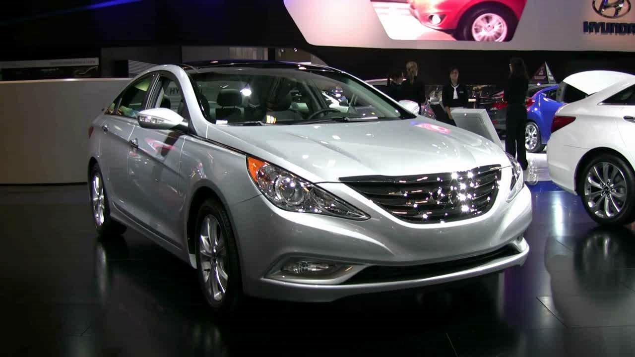 2012 hyundai sonata limited exterior and interior at 2012 montreal auto show youtube. Black Bedroom Furniture Sets. Home Design Ideas