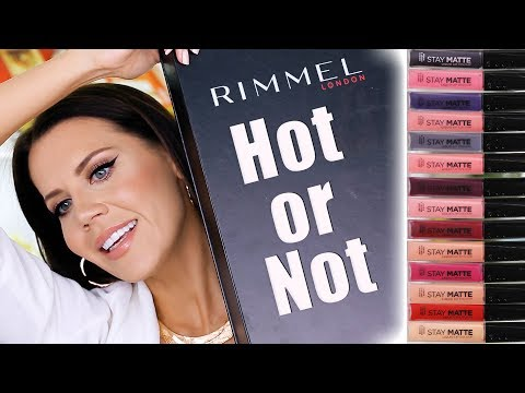 $5 RIMMEL LIQUID LIP | Drugstore Hot or Not