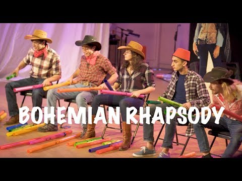 """Harvard Students Perform Amazing Boomwhacker Covers of Queen's """"Bohemian Rhapsody,"""" Journey's """"Don't Stop Believin,"""" Toto's """"Africa"""" & More"""