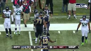 Seattle Seahawks Highlights vs STL(Week 8, 2013)