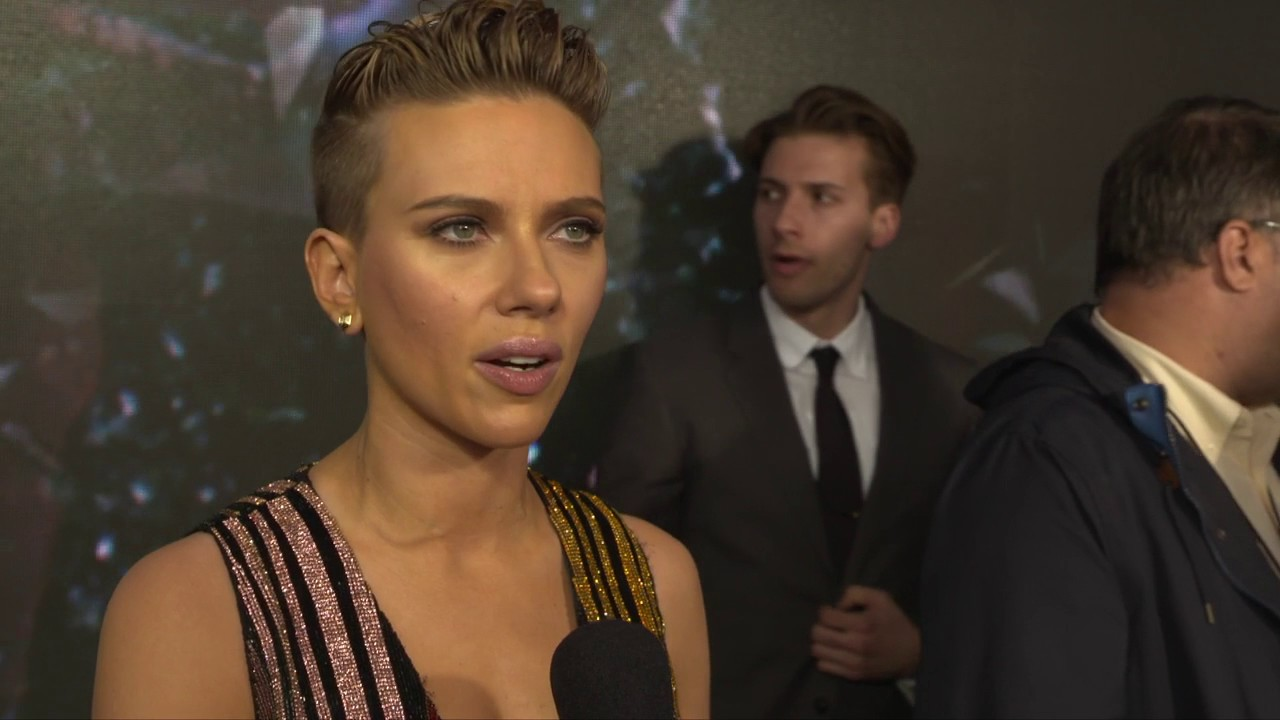 Ghost In The Shell Ny Premiere With Scarlett Johansson Youtube