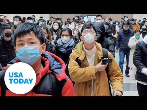 Coronavirus Outbreak: City Of Wuhan Recorded By American Teacher   USA TODAY