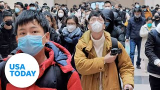 Coronavirus outbreak: City of Wuhan recorded by American teacher | USA TODAY