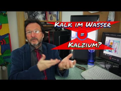 Karl Heinz Asenbaum ist das Kalzium im Wasser, der Kalk, das gleiche Kalzium, was ich zu mir nehme
